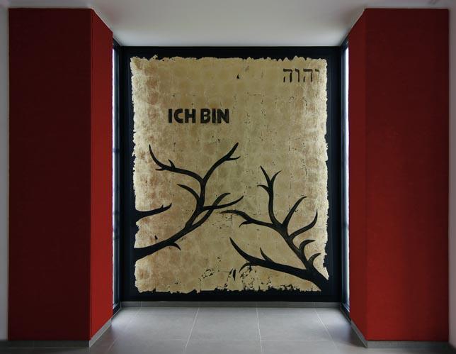 Wandbild Raum der Stille Erzhausen