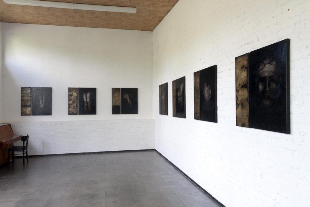 Ausstellungsansicht Galerie C.Klein Darmstadt