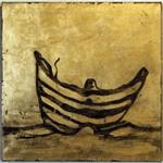 Öl auf Goldgrund auf Leinwand, 80 x 80 cm, Ev. Kirche Elz