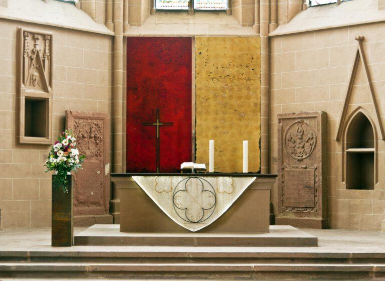 Diptyque - Altarbild in der St. Katharinenkirche Oppenheim
