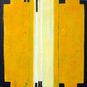 "Werk Nr. 1237 ""Gloria"", 140 x 140 cm, Acryl auf Leinwand, 2004"