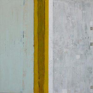 """Werk Nr. 1238 """"Credo"""", 140 x 140 cm, Acryl auf Leinwand, 2004"""