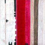 """Werk Nr. 1241 """"Agnus Dei"""" 140 x 140 cm, Acryl auf Leinwand, 2004"""