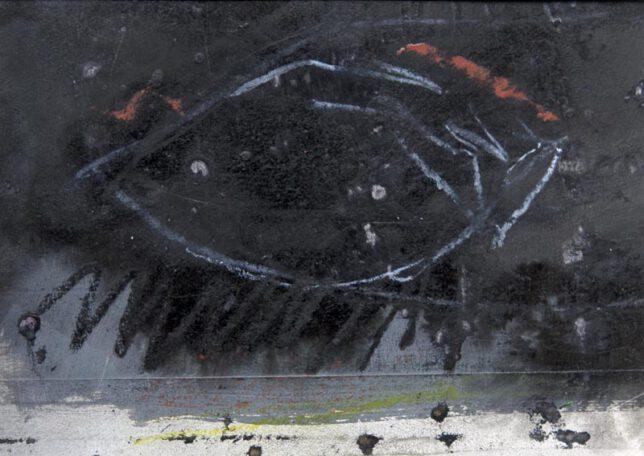 Werk Nr. 1532 - Gouache auf Papier ca. 30 cm breit, 2015