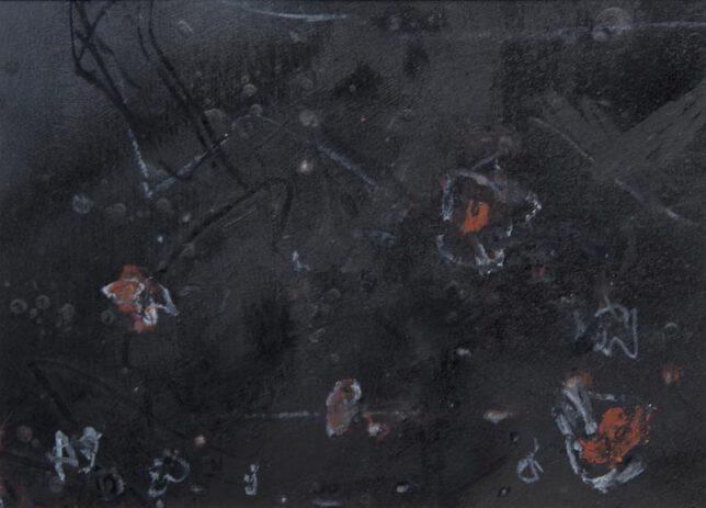 Werk Nr. 1533 - Gouache auf Papier ca. 30 cm breit, 2015