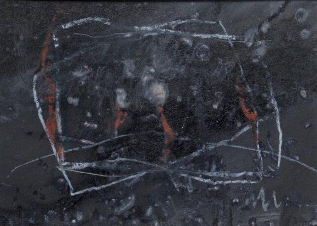 Werk Nr. 1535 - Gouache auf Papier ca. 30 cm breit, 2015