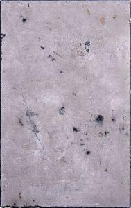 Werk Nr. 1632- Aschevariation 4 - Asche und Acryl auf Leinwand - 95 x 60 cm - 2020/2021