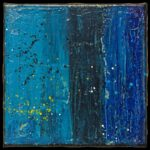 Werk Nr. 1661 - Acryl auf Leinwand - 20 x 20 cm - 2021