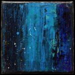 Werk Nr. 1663 - Acryl auf Leinwand - 20 x 20 cm - 2021