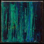 Werk Nr. 1665 - Acryl auf Leinwand - 20 x 20 cm - 2021